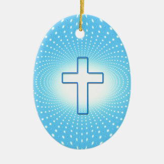 Ornamento De Cerâmica cruz