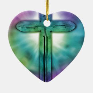 Ornamento De Cerâmica Cruz #2