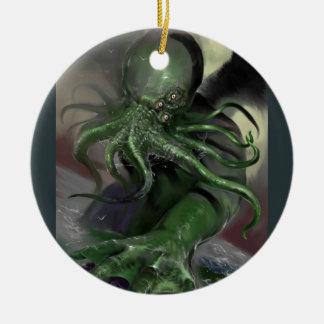 Ornamento De Cerâmica Cthulhu cavalo-força de aumentação Lovecraft