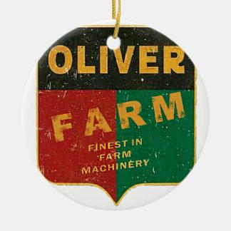 Ornamento De Cerâmica Cultivo de Oliver