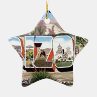 Ornamento De Cerâmica Cumprimentos da arizona