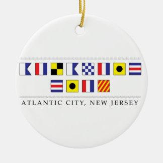 Ornamento De Cerâmica Cumprimentos de Atlantic City