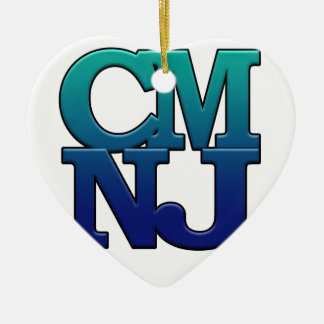 Ornamento De Cerâmica Cumprimentos de Cape May, New-jersey