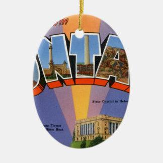 Ornamento De Cerâmica Cumprimentos de Montana