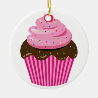 Ornamento De Cerâmica Cupcake