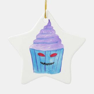 Ornamento De Cerâmica Cupcake possuído