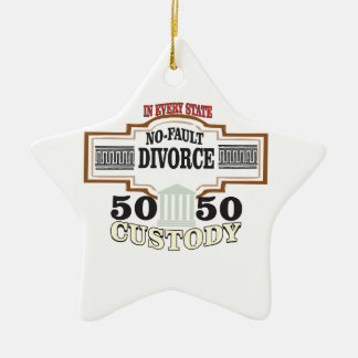 Ornamento De Cerâmica custódia 50 50 no casamento