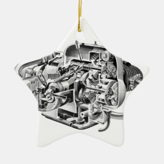 Ornamento De Cerâmica Cutaway do Airhead