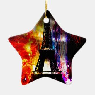 Ornamento De Cerâmica Da elevação sonhos parisienses outra vez