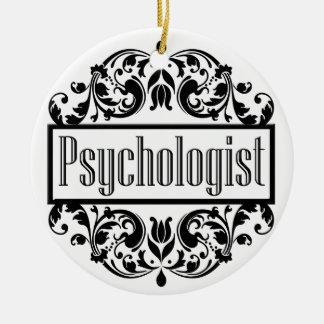 Ornamento De Cerâmica Damasco do psicólogo