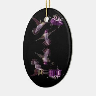 Ornamento De Cerâmica Dança do colibri