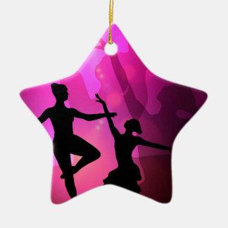 Ornamento De Cerâmica Dançarinos de balé