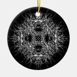 Ornamento De Cerâmica dark 666