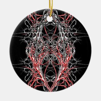 Ornamento De Cerâmica dark metal