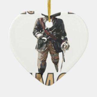 """Ornamento De Cerâmica De """"limão do pé Peg"""" do pirata"""