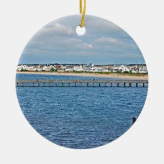 """Ornamento De Cerâmica De """"porto Lewes coleção da balsa"""""""