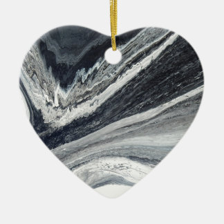 Ornamento De Cerâmica De tinta preta