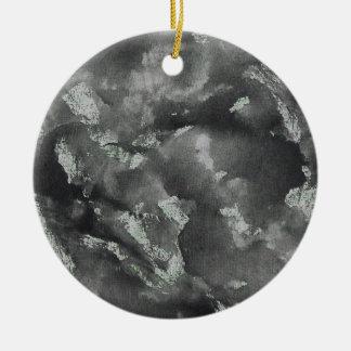 Ornamento De Cerâmica De tinta preta no marcador lavável verde