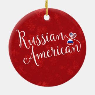 Ornamento De Cerâmica Decoração americana do feriado das bandeiras dos