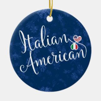 Ornamento De Cerâmica Decoração americana italiana do feriado das
