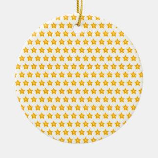 Ornamento De Cerâmica decoração brilhante do Natal das estrelas