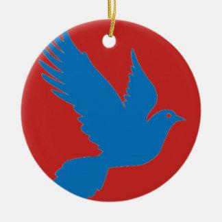 Ornamento De Cerâmica Decoração do Natal de Colomennod
