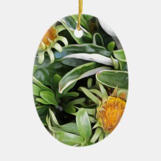 Ornamento De Cerâmica Dente-de-leão um la Van Gogh