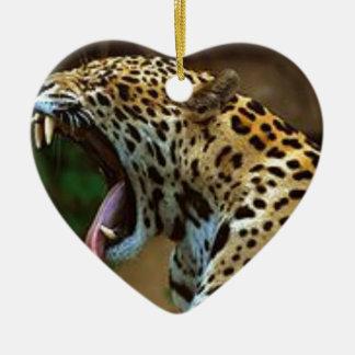 Ornamento De Cerâmica Dentes do rolamento da pantera