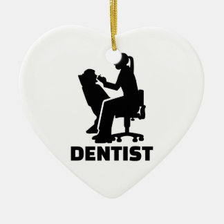 Ornamento De Cerâmica Dentista