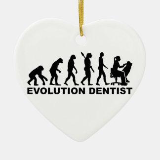 Ornamento De Cerâmica Dentista da fêmea da evolução
