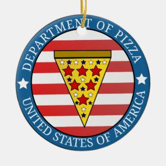 Ornamento De Cerâmica Departamento da pizza