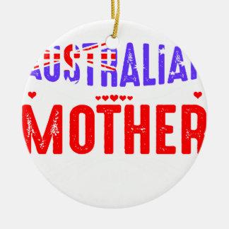 Ornamento De Cerâmica Desembarace do uso nao receoso australiano louco