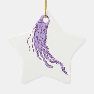 Ornamento De Cerâmica Desenho australiano das medusa da caixa