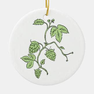 Ornamento De Cerâmica Desenho de escalada da planta do salto