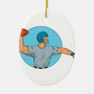 Ornamento De Cerâmica Desenho de jogo do círculo do movimento da bola do