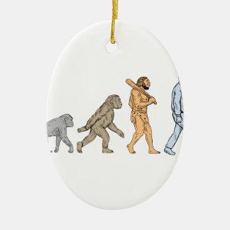 Ornamento De Cerâmica Desenho de passeio da evolução humana