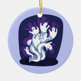 Ornamento De Cerâmica Desenhos animados bonitos engraçados do Dia das
