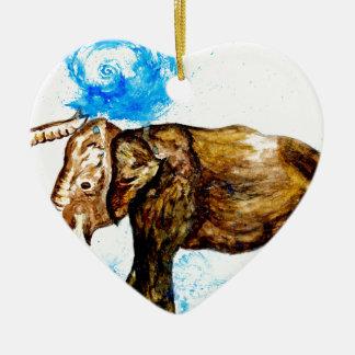 Ornamento De Cerâmica Desenhos animados Elephant2