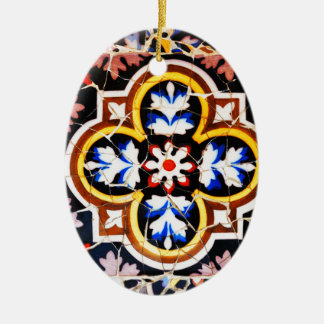 Ornamento De Cerâmica Design abstrato