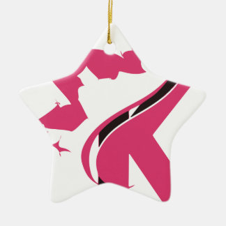 Ornamento De Cerâmica Design BMI do logotipo da coroa K