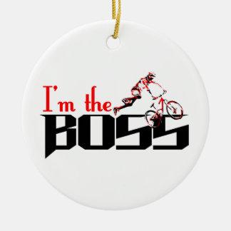 Ornamento De Cerâmica Design da bicicleta do chefe