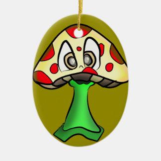 Ornamento De Cerâmica Design da cabeça do cogumelo