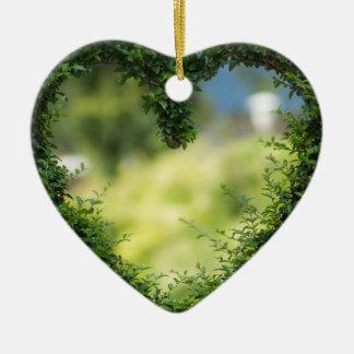 Ornamento De Cerâmica Design da conversão do coração