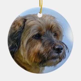 Ornamento De Cerâmica Design de Terrier