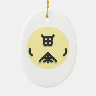 Ornamento De Cerâmica Design de vista asiático