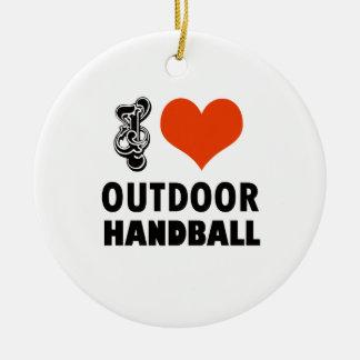 Ornamento De Cerâmica Design do handball