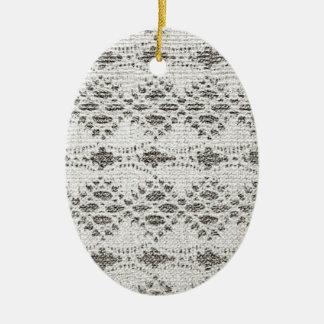 Ornamento De Cerâmica Design do laço do vintage do chique