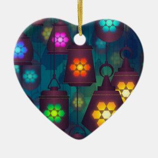 Ornamento De Cerâmica Design do Oriente Médio das lanternas árabes