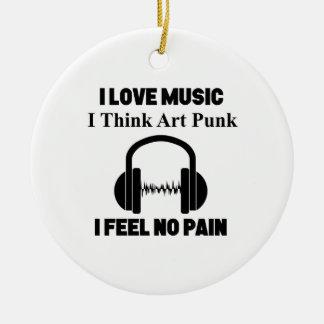 Ornamento De Cerâmica design do punk da arte