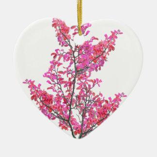Ornamento De Cerâmica Design floral bonito colorido